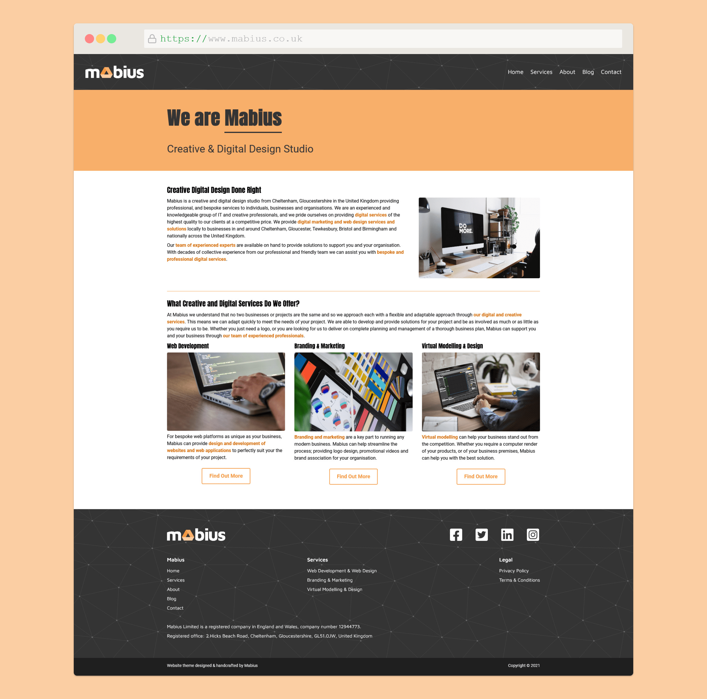 Mabius Wordpress Theme
